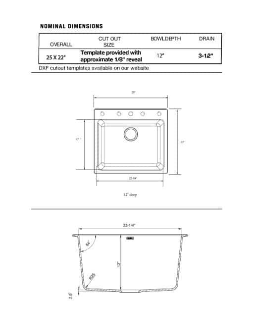 Blanco Silgranit Liven Sink Empire Custom Cabinets