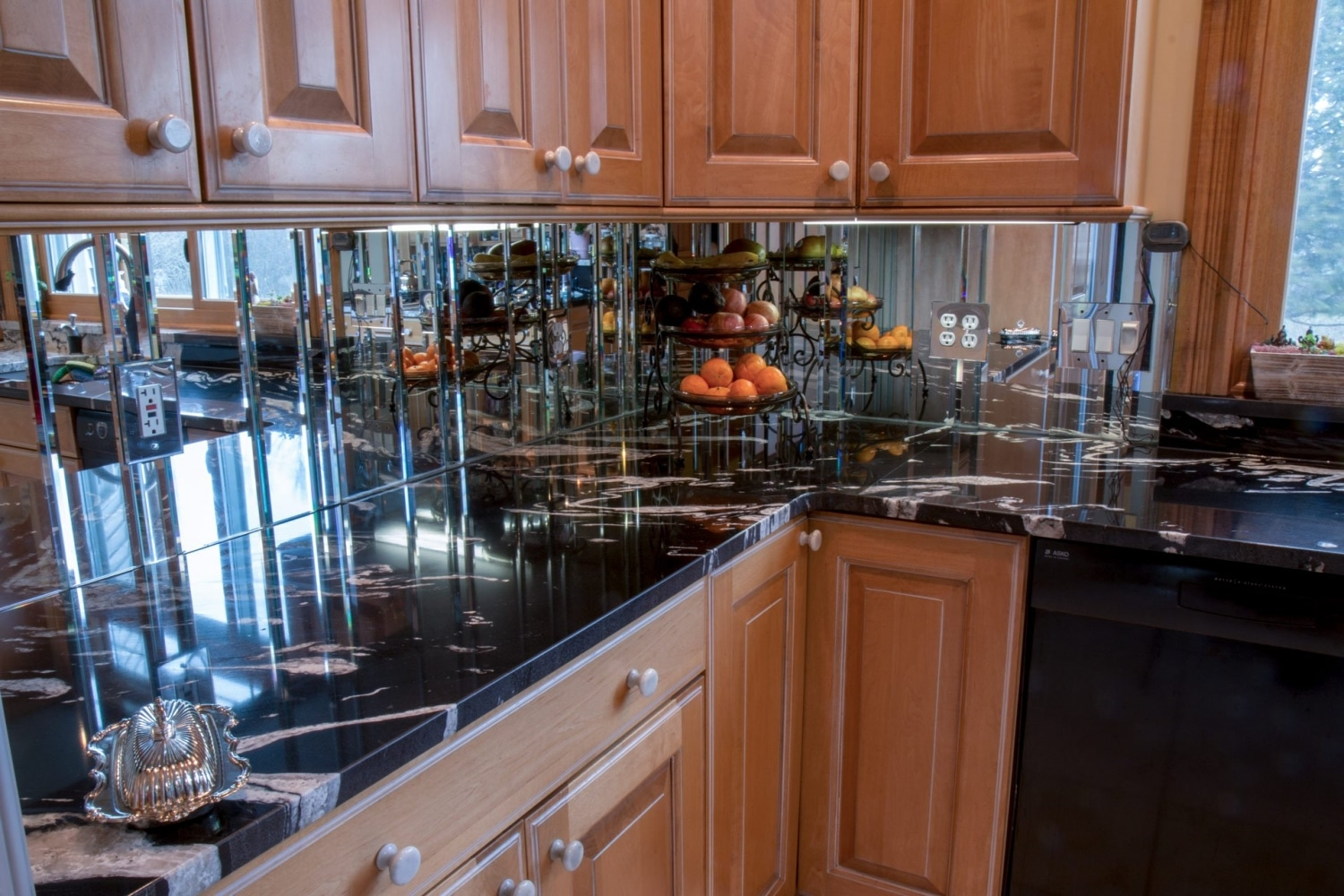 granite-copacabana-waterfall-edge-blanco-diamond-sink-countertops-3